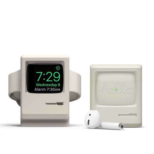 Elago AW3 Case for Apple Airpods - Classic White
