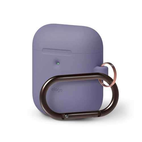Elago 2nd Generation Airpods Hang Case - Lavender Gray