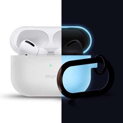 Elago Slim Hang Case for Apple Airpods Pro - Night Glow Blue