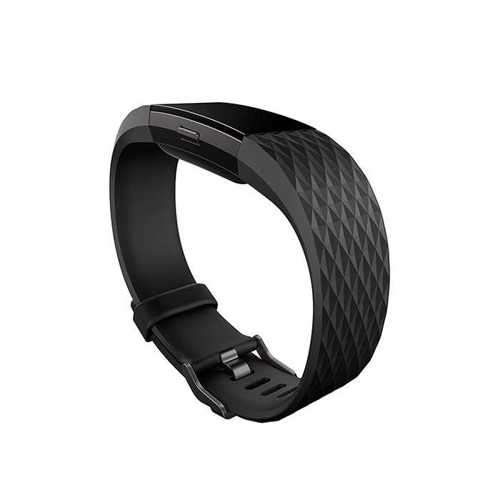 Fitbit Charge 3 Fitness Wristband with Heart Rate Tracker - Gunmetal/Black