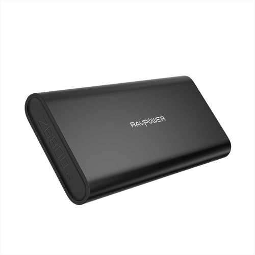 RAVPower Ace Series 26800mAh Portable Charger with Dual Input - Black