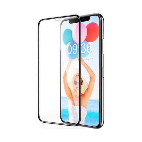Porodo 3D Curved Tempered Glass Screen Protector for iPhone Xs Max - Black
