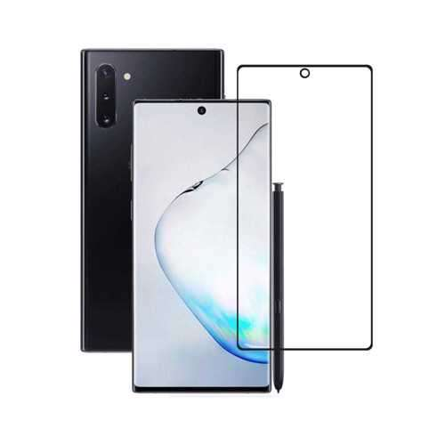 Porodo 3D Curved Full Tempered Glass Screen Protector 0.25mm for Samsung Galaxy Note 10 - Black