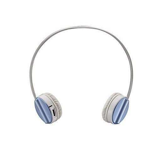 H6020-PRO-BL Rapoo H6020 Bluetooth 4.1 Stereo Headset Wireless Headphone with hidden Microphone - 16 Hours Play Time - Blue