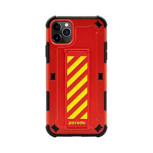 iGuard by Porodo Strap Phone Case for iPhone 11 Pro - Red