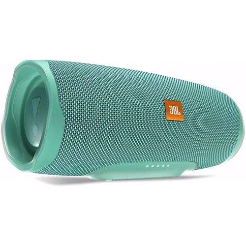 JBL Splashproof Portable Bluetooth Speaker With Usb Charger Charge4- Teal