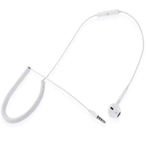 ZM-One-Ear Zoook Single Ear headset, with retractable spring - White