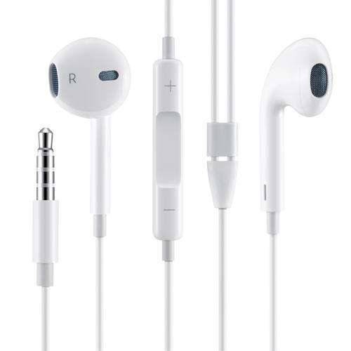 ZM-EM12-WH Zoook Apple Type Earphones with Mic - White