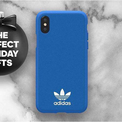 ADIDAS Originals Moulded Case for iPhone XS/X Bluebird
