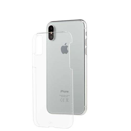 CASE-MATE Barely There For iPhone XS/X Clear