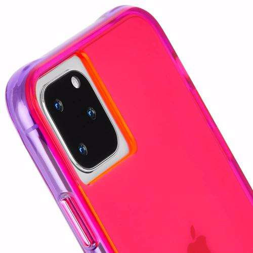 CASE-MATE Tough Neon Pink/Purple Case for iPhone 11 Pro