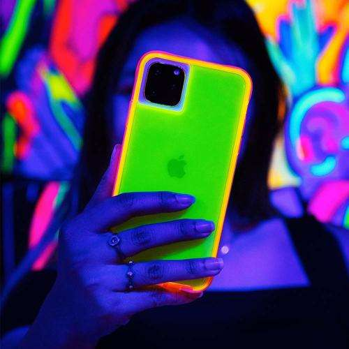 CASE-MATE Tough Neon Green/Pink Case for iPhone 11 Pro Max