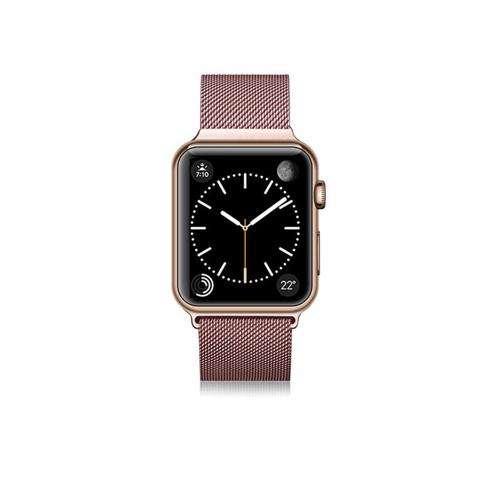 CASETIFY Apple Watch Band Nylon Fabric All Series 38mm Pink