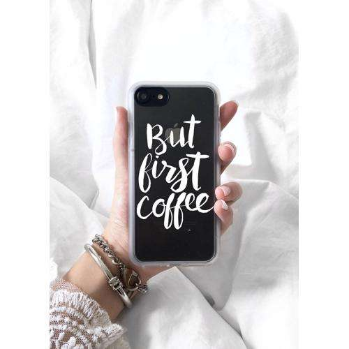 CASETIFY But First Coffee Case for iPhone 8/7 Plus