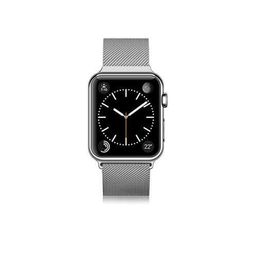 CASETIFY Apple Watch Band Stainless Steel for All Series 42mm Silver