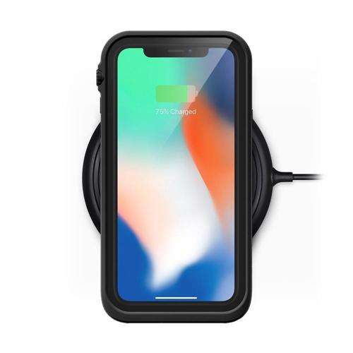 CATALYST Waterproof Case for iPhone X Stealth Black