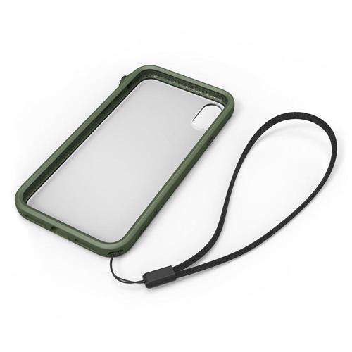 CATALYST Impact Protection Case for iPhone XS/X Army Green