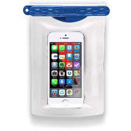 GOBAG Dolphin Self Sealing Dry Bag for All Smartphones Waterproof to 30m Blue
