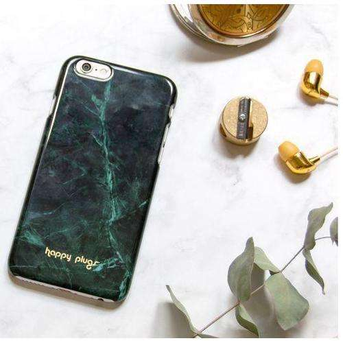 HAPPY PLUGS Slim Case Deluxe for iPhone 8/7 Jade Green Marble