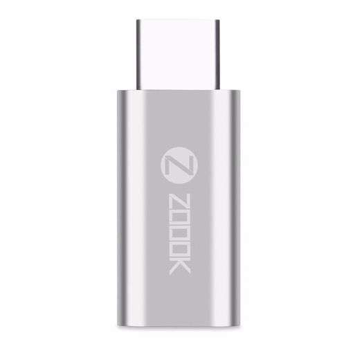 Zoook ZF C2LF Type C to Lightning(F) Adapter - Silver