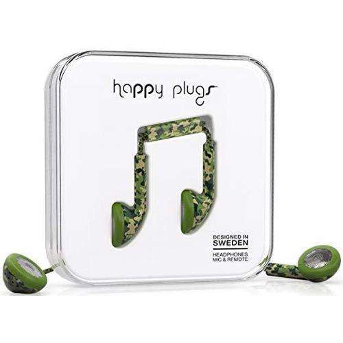 HAPPY PLUGS Deluxe Earbuds Camouflage