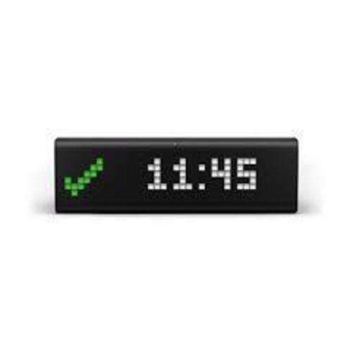 LaMetric TIME World''''s Smartest Clock - WiFi connected Clock with LED Indicator Panel