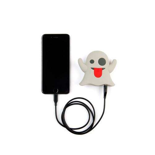 MOJIPOWER External Battery Portable Charger 2600 mAh Power Bank Ghost