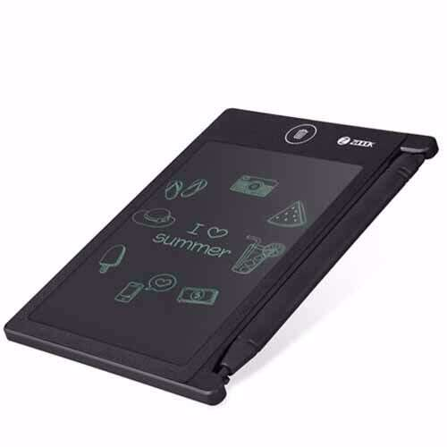 """Zoook 4.5"""" Rewritable LCD Pad with Stylus - Black with Blue trim"""