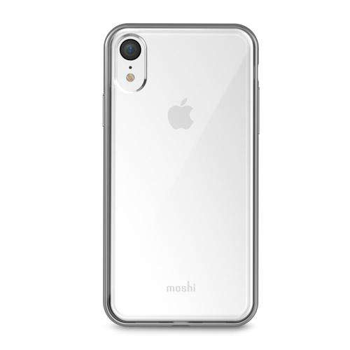 MOSHI Vitros Case for iPhone XR Jet Silver