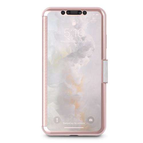 MOSHI Stealthcover Case for iPhone XR Champagne Pink
