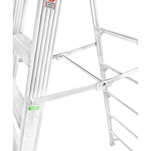 GAZELLE - 8 Ft. Aluminium Step Ladder for working height up to 12 Ft.
