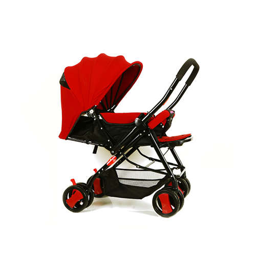 Baby Plus BP7732 Baby Stroller and Pram Wine Red, 0-36 months