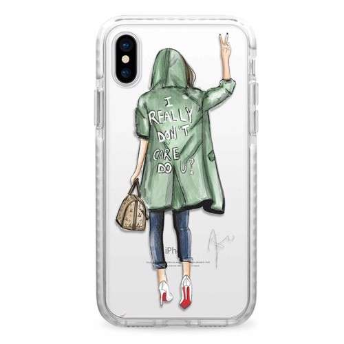 CASETIFY Snap Case Don't Care For iPhone XS Max