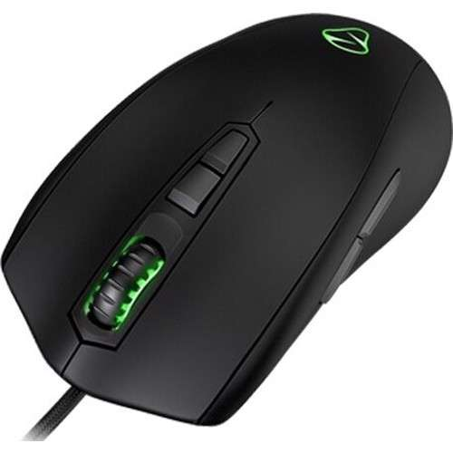 Mionix AVIOR 8200 Multi Color Ambidextrous Laser Gaming Mouse - Black