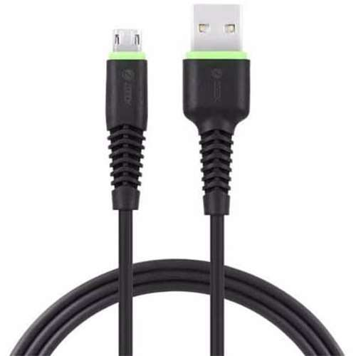 Zoook Reversible Double Sided USB to Reversible Micro USB Cable High Speed Sync and Charging Cable (1 meter) - Black