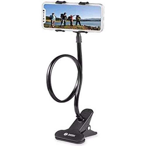 Zoook Clip On Desk or Car Mobile Holder - Black