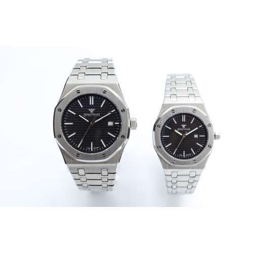 Challenger Pair''s Silver Watch - Stainless Steel S12566L-7P