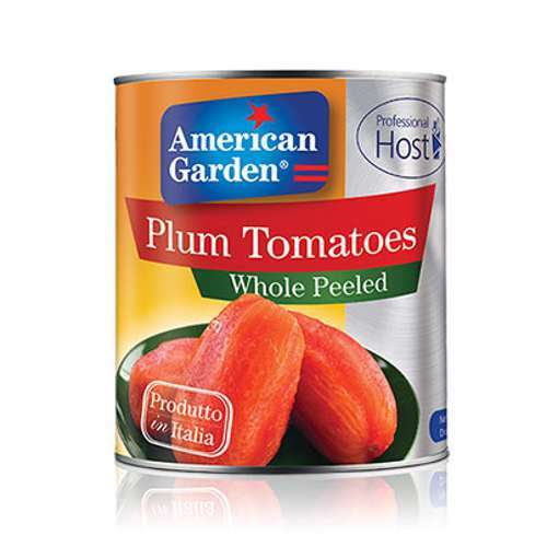 American Garden Whole Peeled Tomatoes (6x2.5kg)