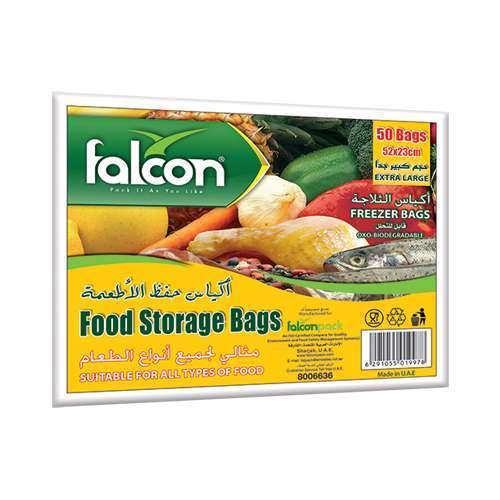 Food Storage Bags – Extra Large 23 X 52 Cm (1 Pack X 50 Bags)