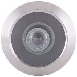 Door Viewer Peep Hole with Cover - Silver preview