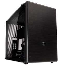 Raijintek Ophion M Evo Tempered Glass Micro-ATX Case, Double Sided Tempered Glass Side Panels, Space For 360 Mm Radiators, Compatible With ATX-And Sfx-L PSUs, Dual-Slot VGA Cards