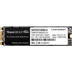 Team Group Ms30 256GB SATA  Rev. 3.0 (6GB/S), M.2 Solid State Drive, (Read/Write Speed Up To 550/470 Mb/S)