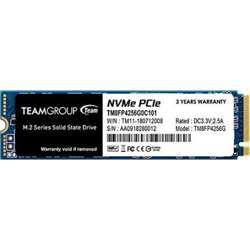 Team Group Mp34 256GB Nvme Pcie M.2 2280 Solid State Drive  SSD, Read/Write Speed Up To 2,700/850 Mb/S