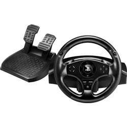 Thrustmaster T80 Racing Wheel W/Pedals For Ps3/Ps4 - Black