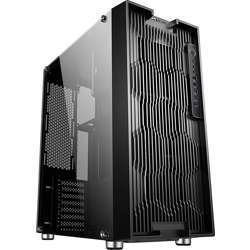 Tortox Iris Full-Tower PC Gaming Case, E-ATX, 8 Fan Support, Full Tempered Glass Side Panel Included, Water-Cooling Ready IRIS