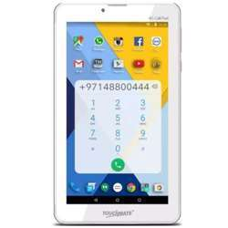 """Touchmate 7"""" 4G Quad Core Calling Tablet - Android 7.0 Os, Memory 16GB Built-In - Processor 1.5 Ghz Quad Core - Ram 1GB Ddr3 Built-In, Dual Sim Slot - White"""