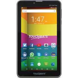 """Touchmate 7"""" 3G Calling Tablet - Android 7.0 Os - 16 GB Built-In Storage Memory7.0"""" Lcd 1024 X 600 Hd - 1.3 Ghz Quad Core High Speed Cortex Cpu - 1 GB Ddr3 Built-In, Dual Sim Slot - Black"""