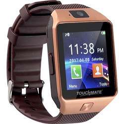 Touchmate Rechargeable Mobile Smartwatch With Touchscreen & Bluetooth Tech