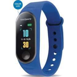 Touchmate Waterproof Fitness Band - Blue