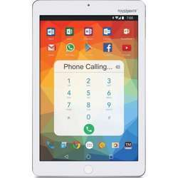 """Touchmate 10.1"""" 3G Quad Core Calling Tablet With Phone Calling - 2 GB Ram, 16 GB Storage With Android 8.1 Os - White"""